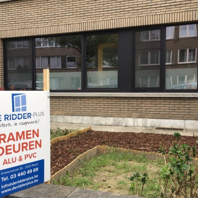 Renovatie Appartement te Borsbeek - PVC ramen
